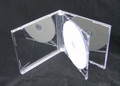 Clear Tray Clear Box Assembled 10.4mm Double Jewel Case