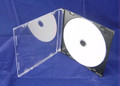 Black 5.2mm Slim CD Jewel Case