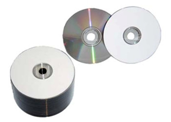 photograph regarding Printable Cd R named Spin-X White Inkjet Printable Best 48X Diamond CDR Media 80min/700MB