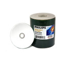 Philips White Inkjet Hub Printable 52X CDR Media 80min/700MB