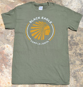 Green Black Eagle Shirt