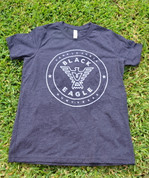 Gray Black Eagle Tee