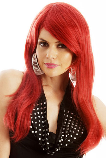 Jessica Rabbit (Red) Deluxe Costume Wig