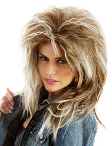 80's Rock Diva (Tina Turner) Costume Wig (9136)