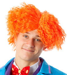 Mad Hatter Orange Costume Wig