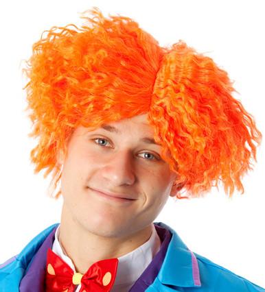 Mad Hatter Orange Costume Wig