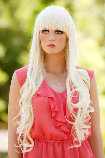 Bridgette (Platinum Blonde 613B) Premium Fashion Wig - Heat Resistant