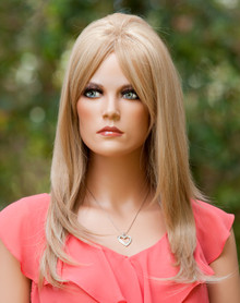 "SHERIDAN - Heat Resistant Blonde 23"" Straight Wig - by Allaura"