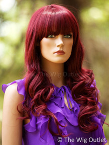 Jenna (Burgundy 118) Premium Fashion Wig