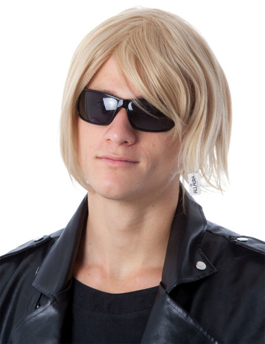 Celebrity Idol (Brad Pitt / Keith Urban/Kurt Cobain Style) Blonde Costume Wig - by Allaura