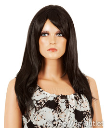 DELUXE Sheridan (Black 1) Premium Fashion Wig - Heat Resistant