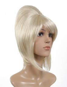 DELUXE Beehive 1960's (Blonde) Premium Costume Wig (Kanekalon Fibre)