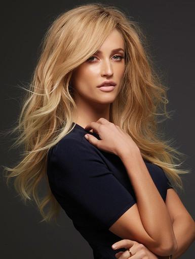 BLAKE (Exclusive Colours) - Human Hair Lace Front Monofilament Straight Long Wig - by Jon Renau