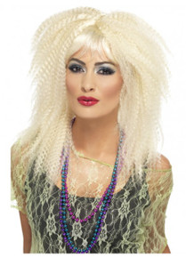 80's Trademark Crimp Costume Wig (SM-23160)