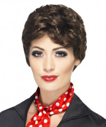 Rizzo Pink Ladies Grease Costume Wig