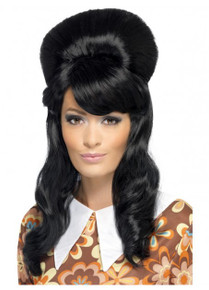 60's Brigitte Bouffant Costume Wig