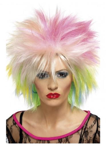 80's Attitude Costume Wig