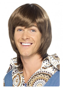 70's Heartthrob Costume Wig