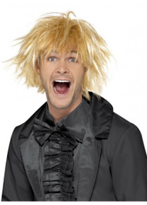 90's Messy Surfer Guy Blonde Costume Wig