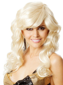 Dancing Queen ABBA 70's Blonde Costume Wig - by Allaura