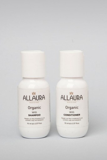 2 Pack - Organic Wig Shampoo & Conditioner (2 x 50ml)