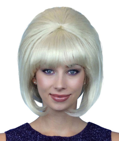 Beehive 1960's (Blonde) Costume Wig (High Quality)