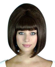 Beehive 1960's (Brown) Costume Wig (High Quality)