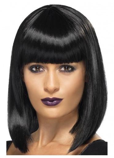 Long Black Bob Costume Wig (Pulp Fiction, Rihanna)