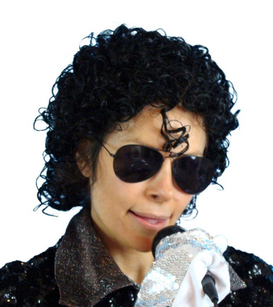 Michael Jackson 80s Short Curly Costume Wig