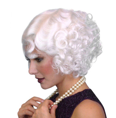 Cabaret 1920s Flapper Black Costume Wig