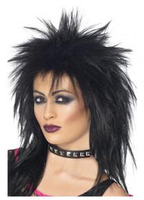 Black Mullet Rock Diva Wig (SM-42238)