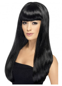 Black Long Straight Babelicious Wig (SM-42416)