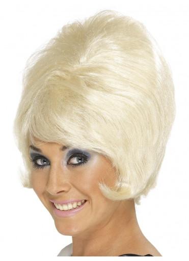 Blonde 60's Beehive Wig (SM-42273)