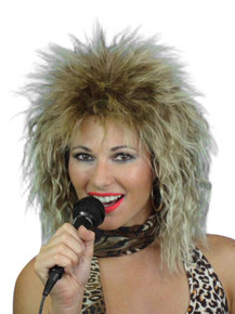 80's Tina Turner Style Costume Wig