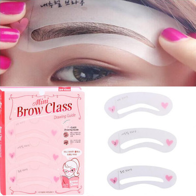 Eyebrow Stencil - Drawing Guide Template