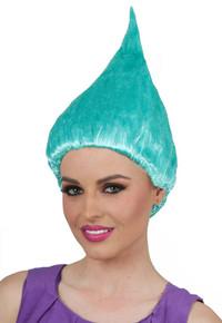 Aqua Troll Doll / Gnome Costume Wig