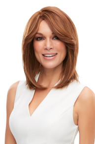 CARA - Human Hair Lace Front Monofilament Layered Bob Wig - by Jon Renau