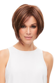 Eve - Heat Defiant Lace Front Monofilament Short Bob Wig - by Jon Renau