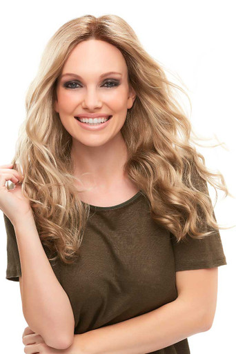 Sarah - Lace Front Monofilament Long Curls Wig - by Jon Renau