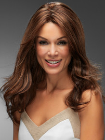 ANGIE - Human Hair Lace Front Monofilament Long Wig - by Jon Renau