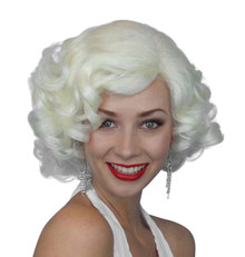 Marilyn 1950s Blonde Costume Wig