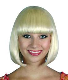 Deluxe Classic Blonde Bob Costume Wig