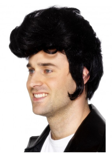 Grease Danny Rockstar Costume Wig