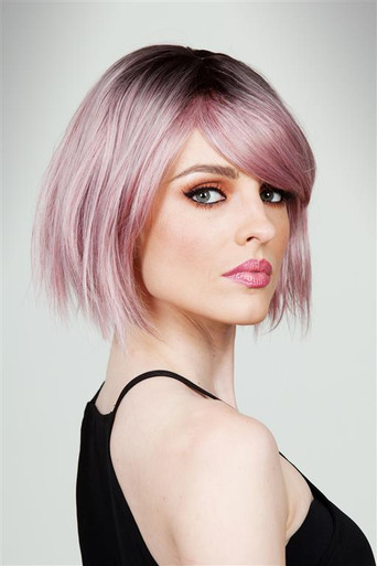 CALLIE - DELUXE Ombre Pink Bob Fashion Wig - by Allaura