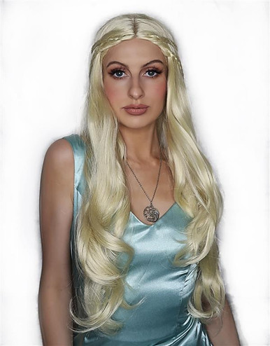 Daenerys (Mother of Dragons) Womens Costume Wig - by Allaura