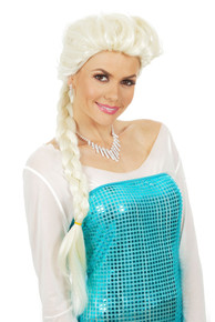 Frozen Inspired Princess Elsa Costume Wig for Adults & Children - by Allaura