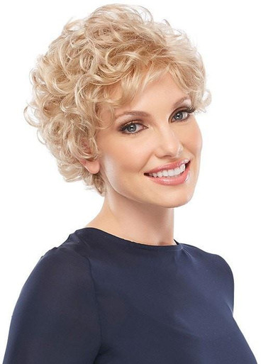 Lily - Short Layered Wavy Wig 22F16 - by Jon Renau
