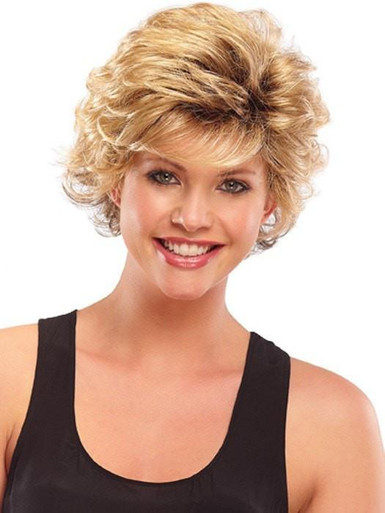 Bianca - Short Layered Wavy Wig 12FS8 - by Jon Renau