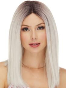 DOVE - Human Hair Blend Heat Resistant Trendy Blunt Bob Wig - by Love It