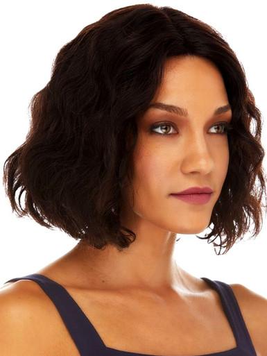 SHAYLA - 100% Black Remy Brazilian Human Hair Lace Front Wig - By Elegante